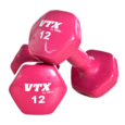 Troy Barbell Vinyl Dumbbell with ERGO Handle
